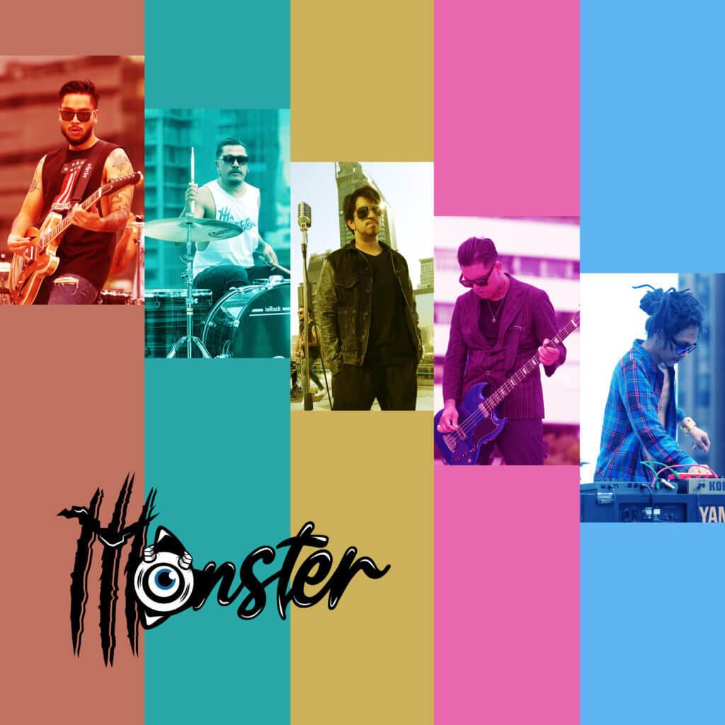 Monster การรวมตัวของอดีตสมาชิกวง Hangman, Supersub, Skalaxy และ บอล อธิป