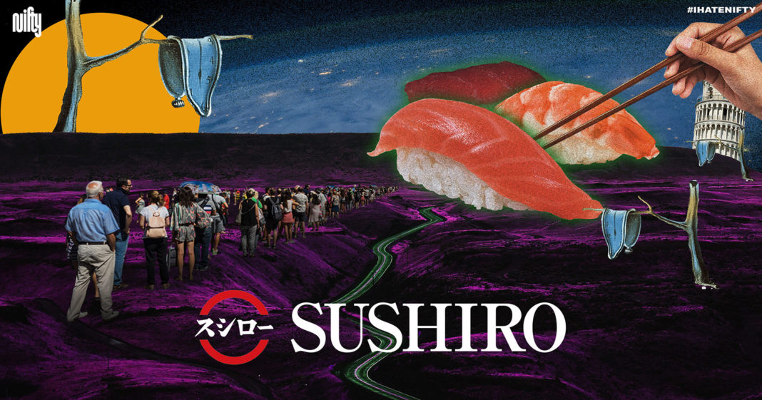 Sushiro คือร้านซูชิสายพานจากญี่ปุ่น ร้านอาหารญี่ปุ่น เซ็นทรัลเวิลด์ Nifty ขอพามาดูว่า อะไรทำให้คนยอมต่อคิวรอกิน ซูชิ ร้านนี้นานกว่า 3 ชั่วโมง!