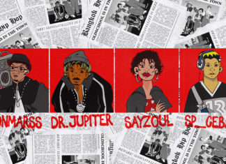 SLOWSATELLITE แร็ปเปอร์ปริศนา 4 คน ONMARSS, DR.JUP!TER, SAYZOUL, SP___CEBAR จะพาทุกท่านล่องไปกับดนตรีจากยุคเก่าที่เท่จนต้องหยุดฟัง