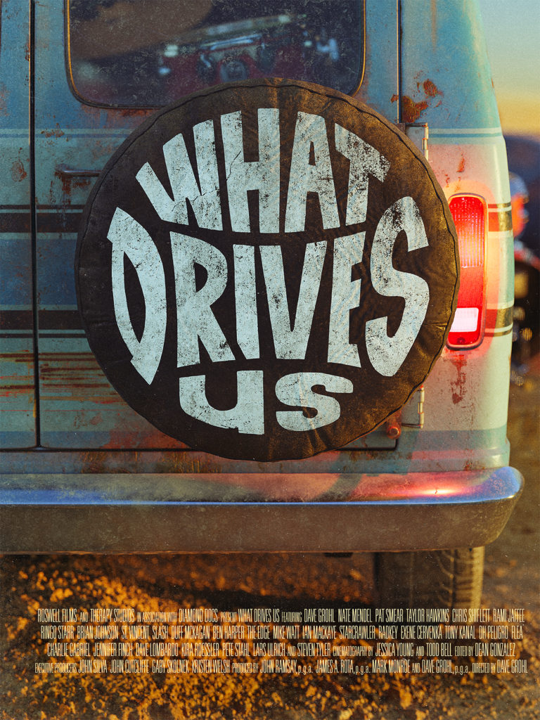 What Drives Us Poster โปสเตอร์ ใบปิด
